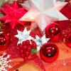 Weihnachtssterne – Weihnachtsschmuck schenken und basteln